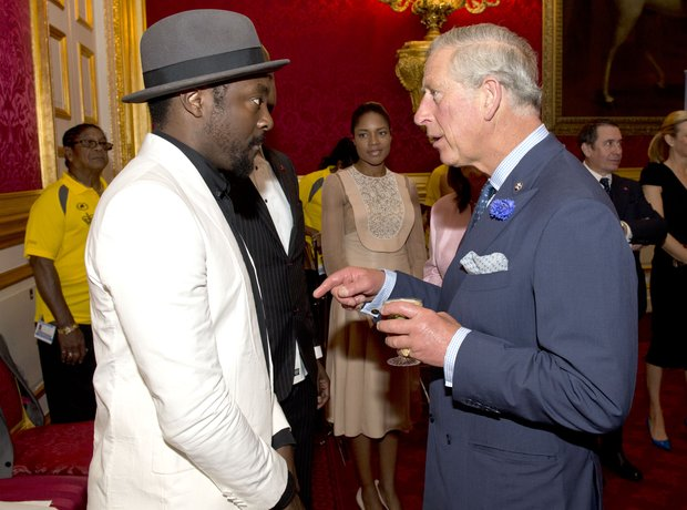 Will.i.am and Prince Charles