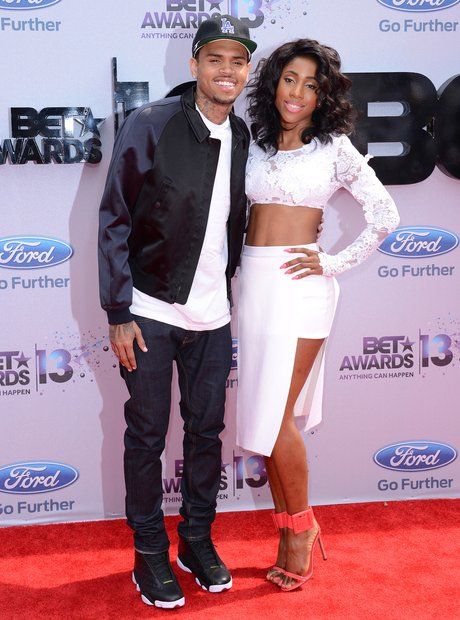 Chris Brown and Sevyn Streeter BET Awards 2013