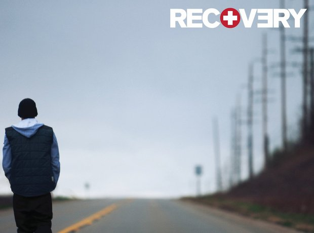 Eminem Recovery album artwork