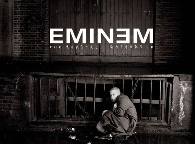 Eminem The Marshall Mathers LP artwork
