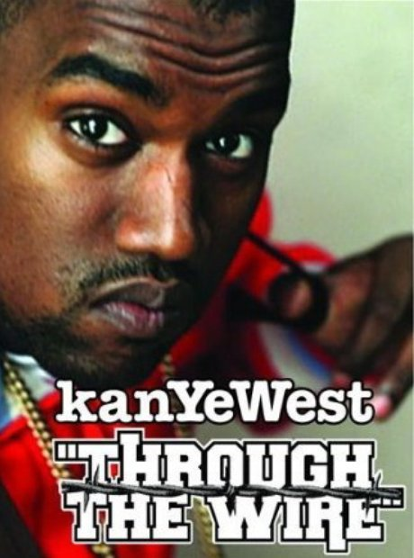 Kanye West 'Through The Wire' single artwork
