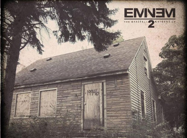 Eminem 'The Marshall Mathers LP 2' Artwork