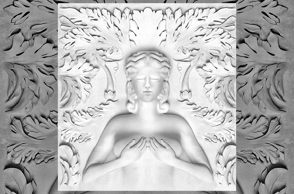 Kanye West 'Cruel Summer' album artwork