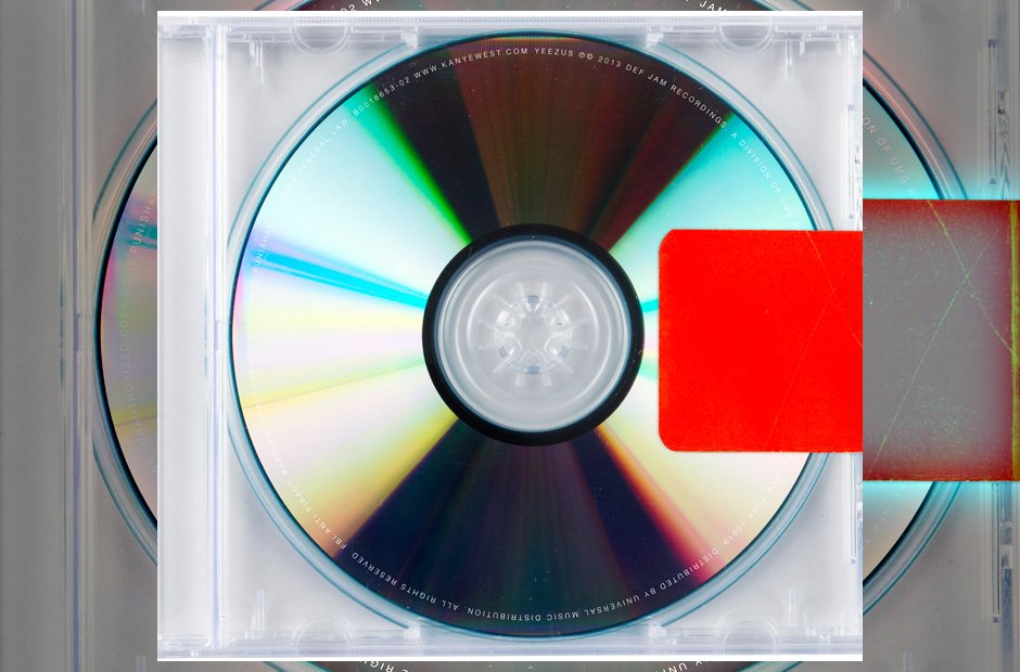 Kanye West 'Yeezus' album artwork
