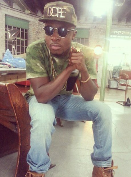 Fuse ODG Instagram picture wearing 'Dope' hat