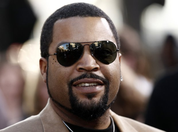 Ice Cube with sunglasses on