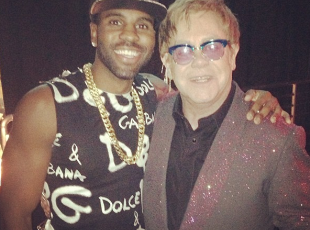 Jason Derulo and Elton John