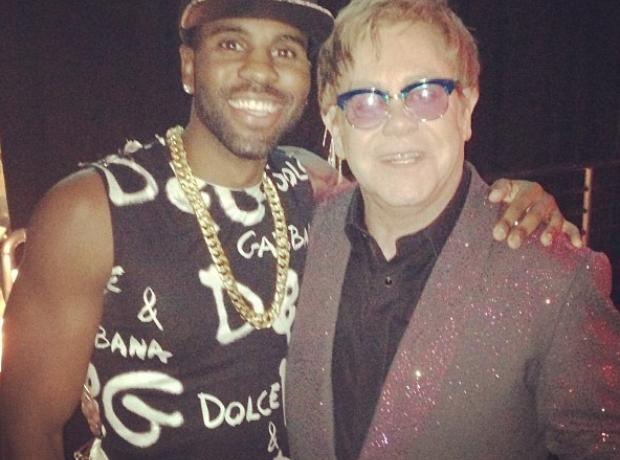 Jason Derulo and Elton John