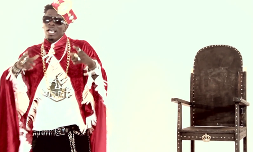 Shata Wale in 'Dancehall King' video