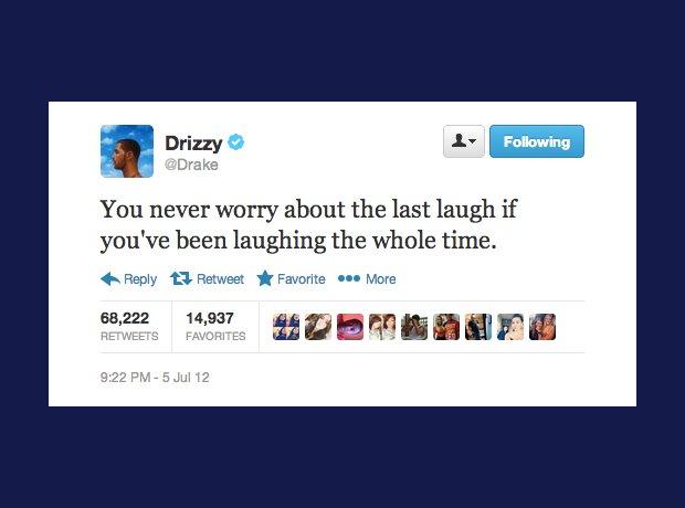 Drake inspirational tweet