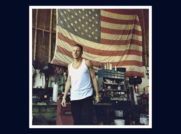 Macklemore white flag