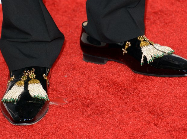 2 Chainz spat shoes