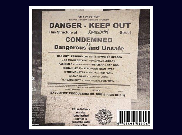 Eminem unveils 'The Marshall Mathers LP 2' tracklisting