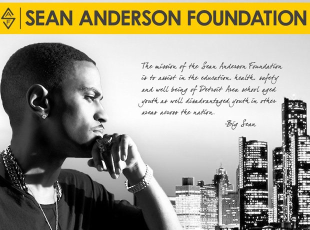 Sean Anderson Foundation website