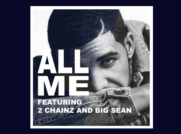 Drake All Me single cover