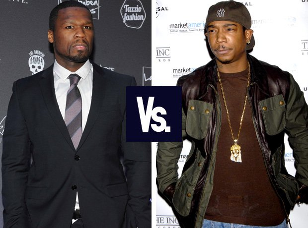 50 Cent and Ja Rule rap feud
