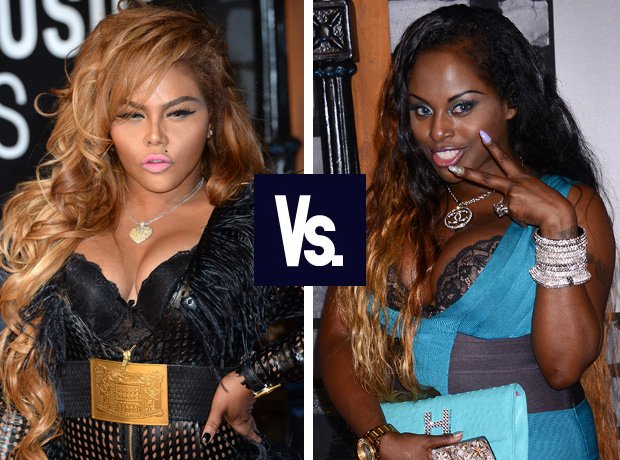 Lil' Kim and Foxy Brown rap feud