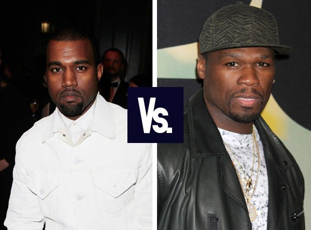 Kanye West vs 50 Cent feud
