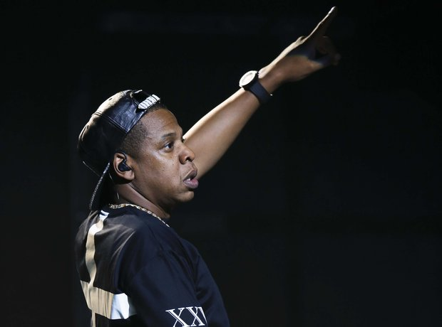 Jay Z live in Paris