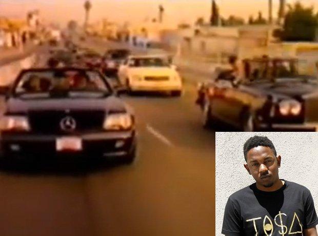 Kendrick California Love video