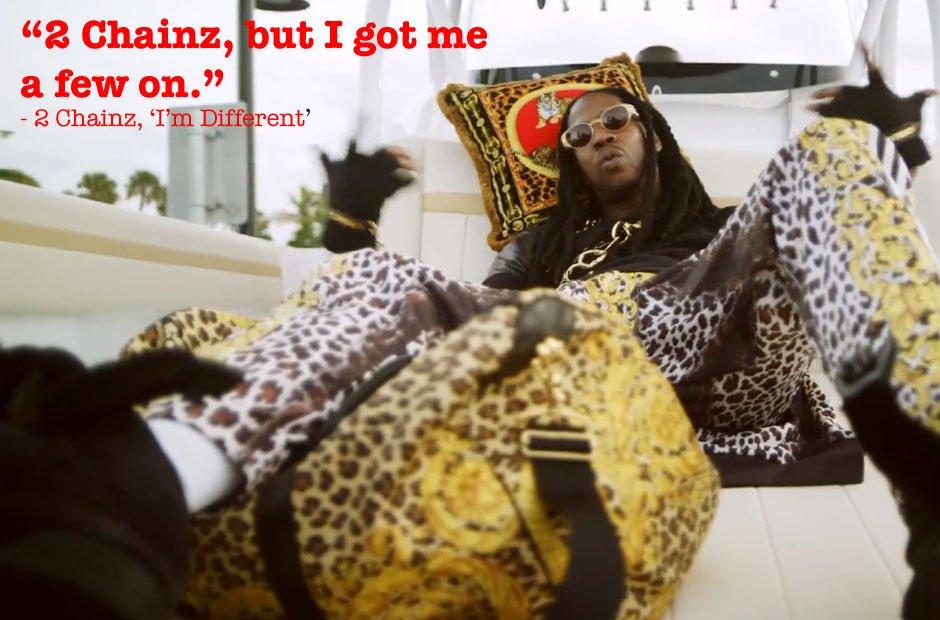 2 Chainz 'I'm Different' Lyrics