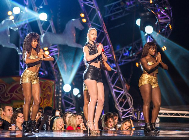 Iggy Azalea performs during the 2013 Mobo Awards