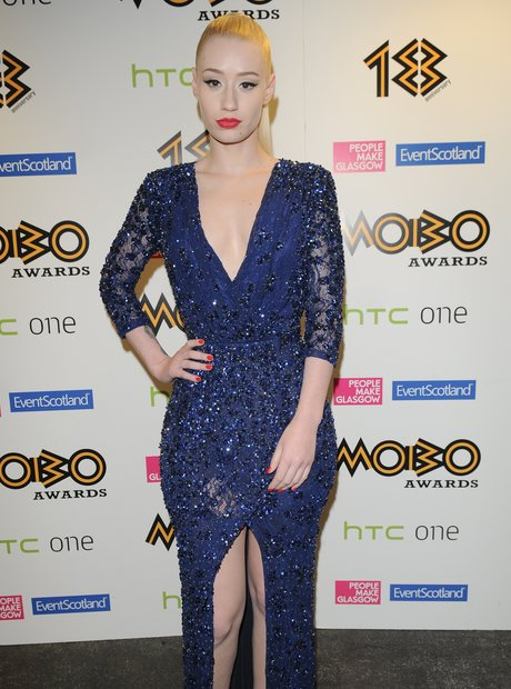 Iggy Azalea arrives at the Mobo Awards 2013