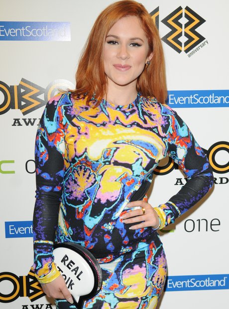 Katy B dress at Mobo Awards 2013