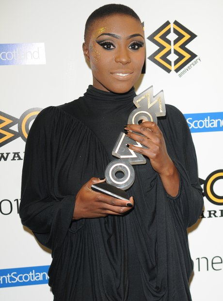 Laura Mvula with Mobo Awards 2013