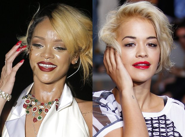 Rihanna and Rita Ora lookalike