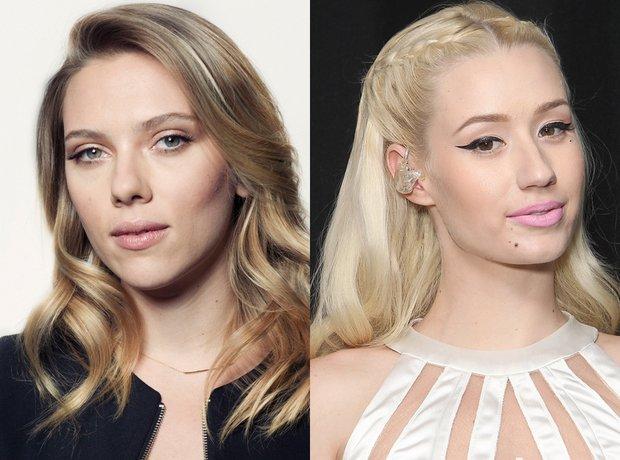 Scarlett Johansson and Iggy Azalea lookalike