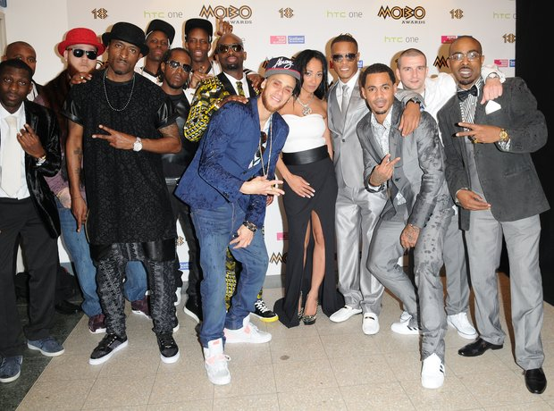 So Solid Crew at the Mobo Awards 2013