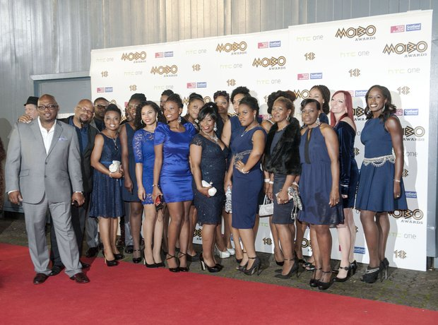 IDMC gospel choir at Mobo Awards 2013