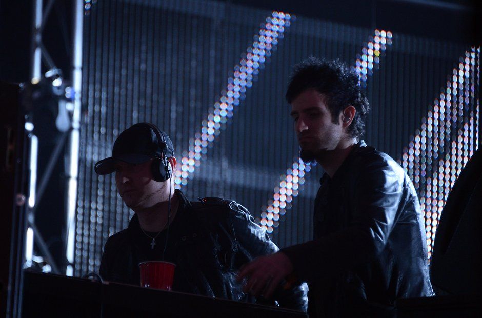 Knife Party at Coachella festival