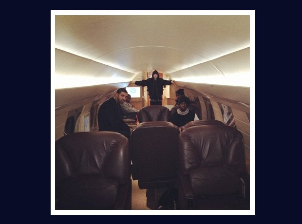 Drake On A Plane