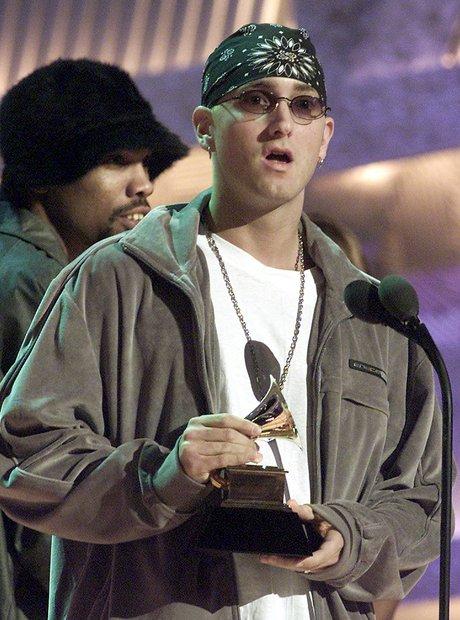 Eminem at the Grammy Awards