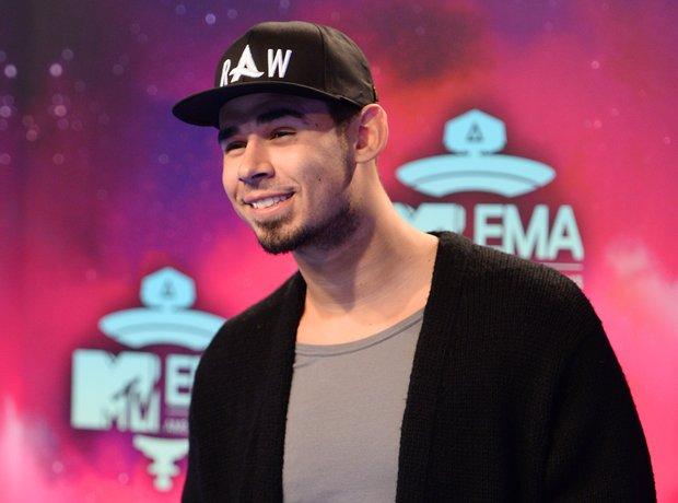 Afrojack at MTV EMAs 2013
