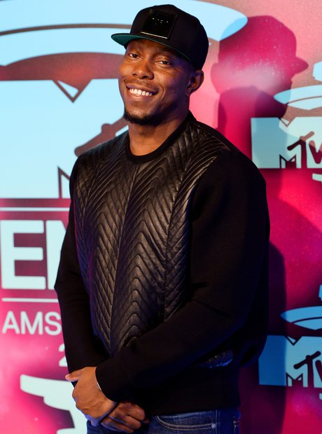 Dizzee Rascal on the MTV EMAs 2013 Red Carpet