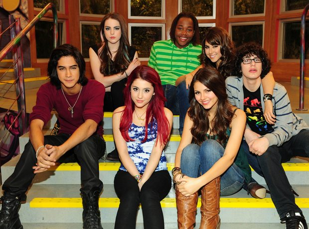 Victorious TV Still with Ariana Grande