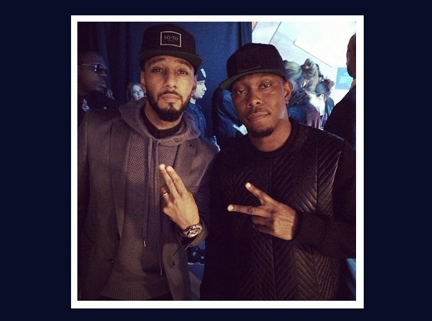Dizzee Rascal and Swizz Beatz