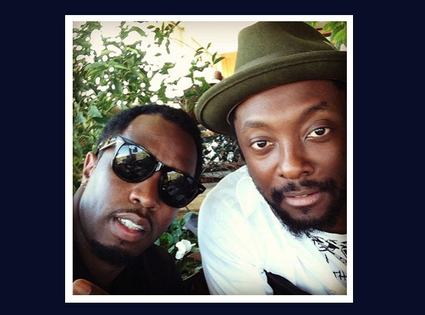 Diddy and Will.i.am selfie