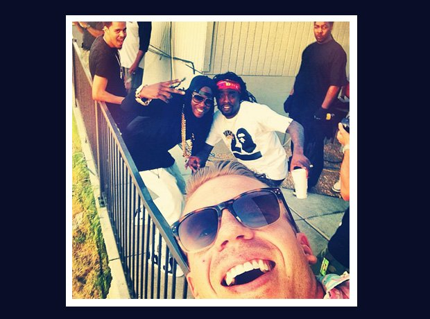 Macklemore and 2 Chainz selfie