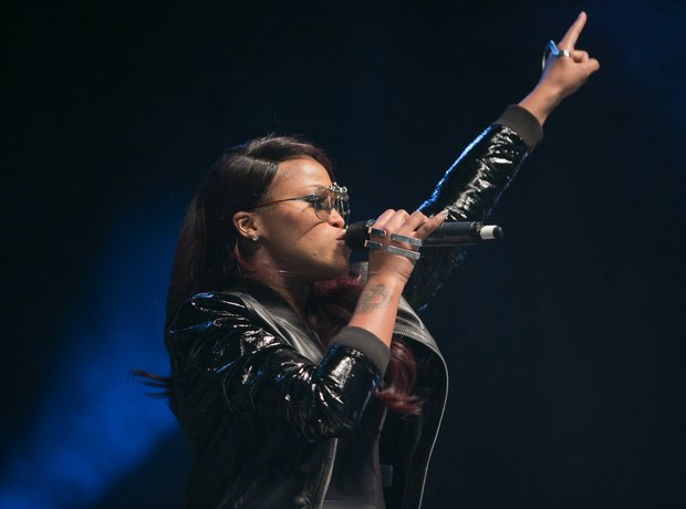 Eve performs on stage at Indigo2 at O2 Arena