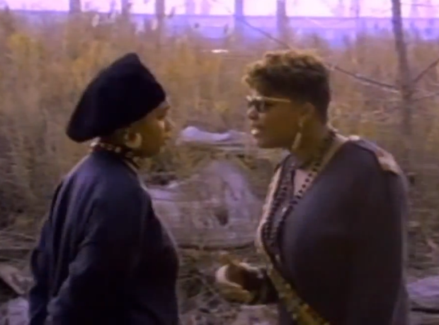 Monie Love and Queen Latifah - Ladies First