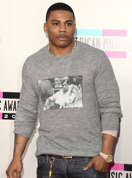Nelly at the American Music Awards 2013