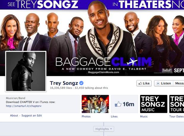 Trey Songz facebook