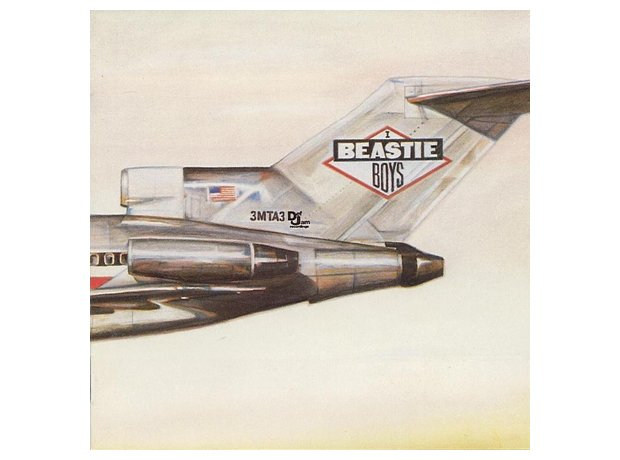 Beastie Boys, 'License To Ill' album cover artwork