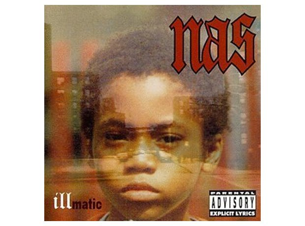 Nas Illmatic album cover artwork