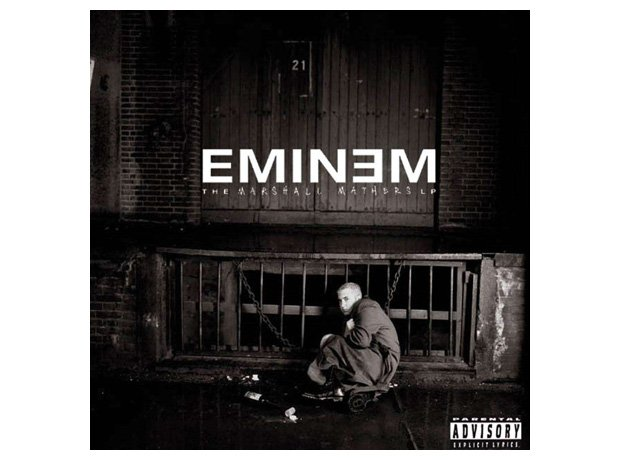 Eminem, 'The Marshall Mathers LP' album cover artwork