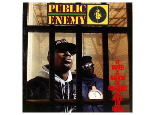 Public Enemy, 'It Takes A Nation Of Millions To Hold Us Back' album cover artwork